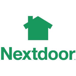 nextdoor logo with text